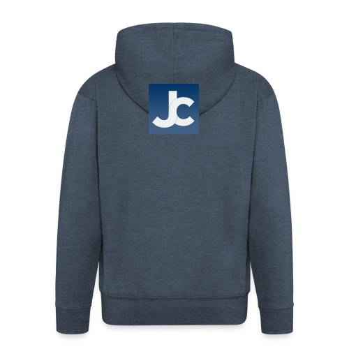 jc_logo - Men's Premium Hooded Jacket