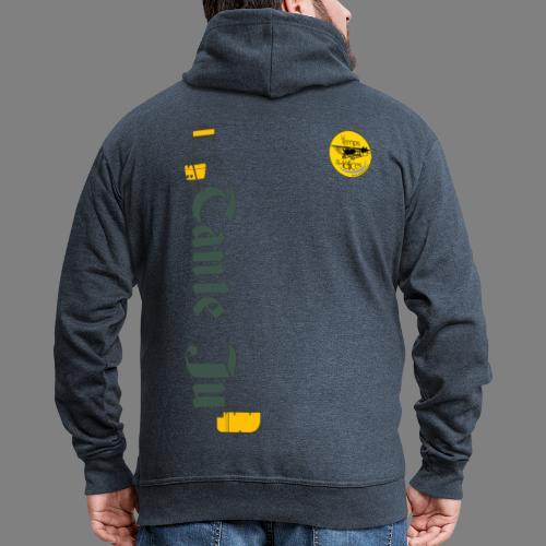 TDH19-PROFIL-JU52 GRIS FONCE - Veste à capuche Premium Homme