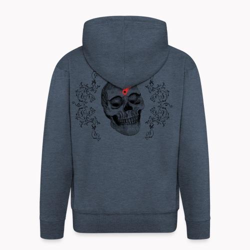 Skull One Bullet - Veste à capuche Premium Homme