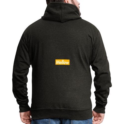 Mellow Orange - Men's Premium Hooded Jacket