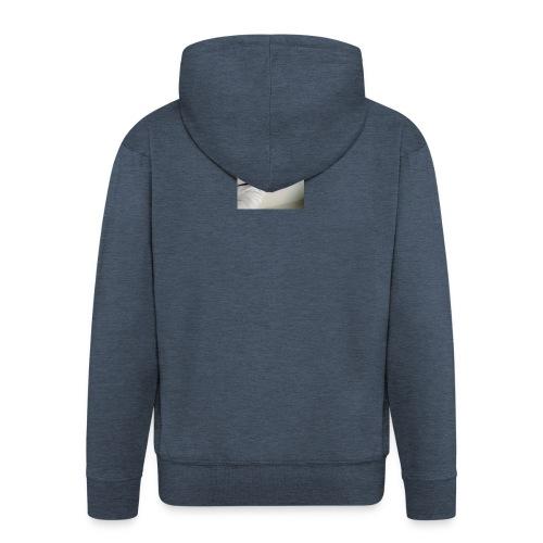 Zdjęcie - Rozpinana bluza męska z kapturem Premium