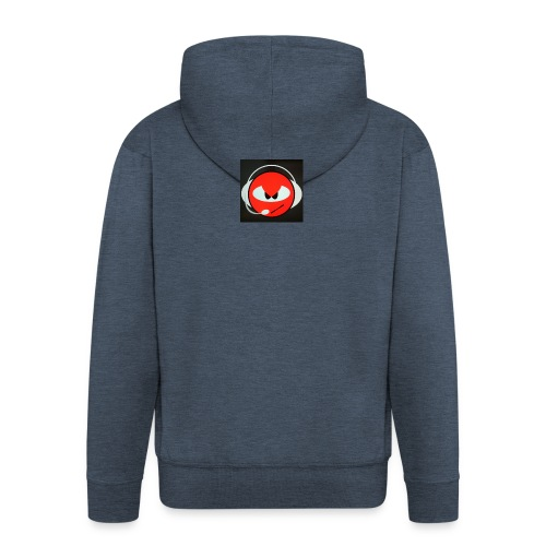 cod-emblem-headphones - Men's Premium Hooded Jacket