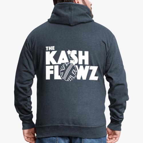 The Kash Flowz Official Bomb White - Veste à capuche Premium Homme