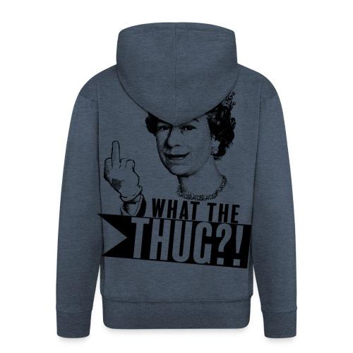 Elizabeth, queen of thug - Veste à capuche Premium Homme