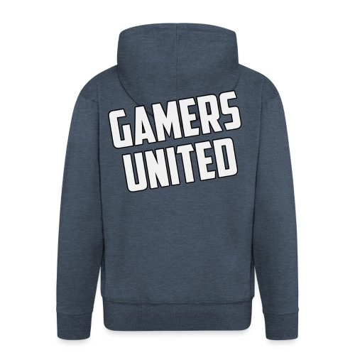 Gamers United - Men's Premium Hooded Jacket