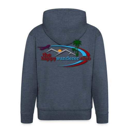 The Happy Wanderer Club Merchandise - Men's Premium Hooded Jacket