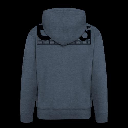 DORA Crew Logo II - Felpa con zip Premium da uomo