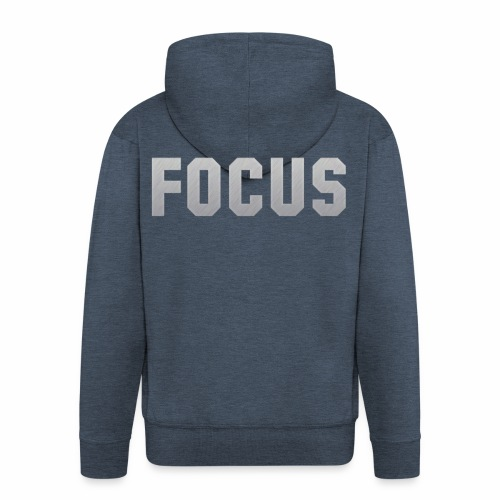FOCUS - Men's Premium Hooded Jacket