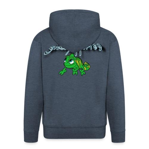 grasshopper189 Logo - Männer Premium Kapuzenjacke