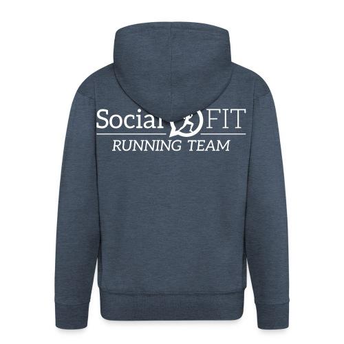 SocialFit RunningTeamLogo - Männer Premium Kapuzenjacke
