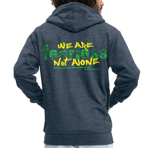 fearless - we are not alone - Männer Premium Kapuzenjacke