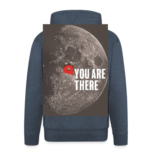 Dans la lune - Veste à capuche Premium Homme