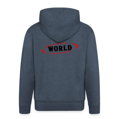 World Vibes - Veste à capuche Premium Homme