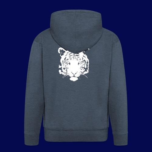 tiger design - Men's Premium Hooded Jacket