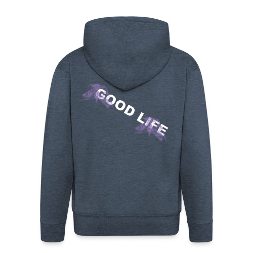 GOOD LIFE - Men's Premium Hooded Jacket
