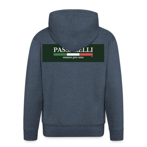 PASSARELLI - Felpa con zip Premium da uomo