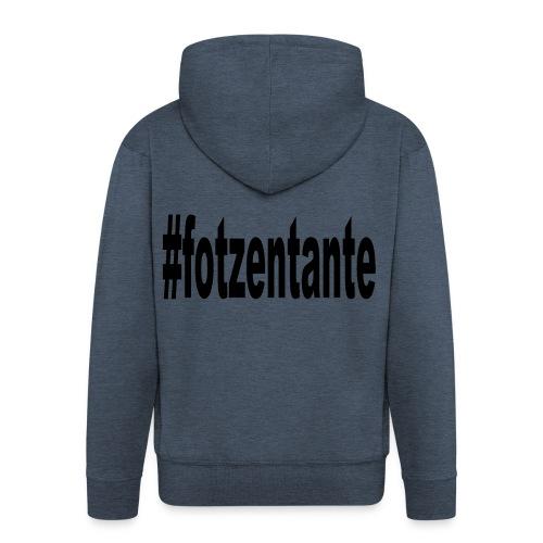 #fotzentante - Männer Premium Kapuzenjacke