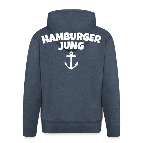 Hamburger Jung aus Hamburg - Männer Premium Kapuzenjacke