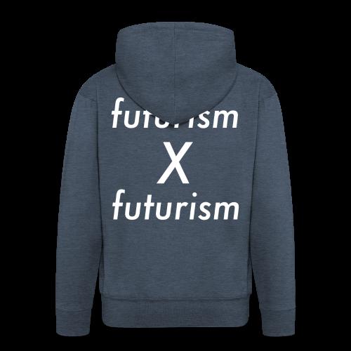 futurism x futurism - Männer Premium Kapuzenjacke