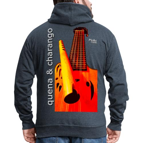 Quena y Charango I bis - Chaqueta con capucha premium hombre