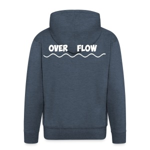Over Flow - Men's Premium Hooded Jacket