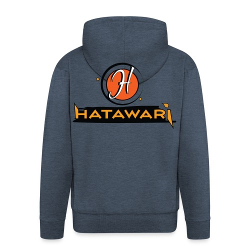 summer logo hatawari - Veste à capuche Premium Homme
