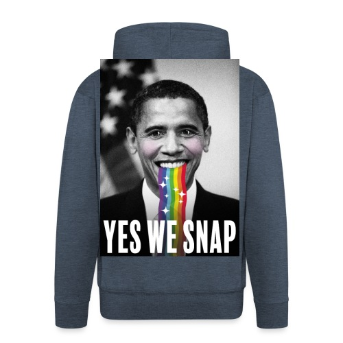 Obama snaps - Veste à capuche Premium Homme