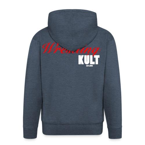 WK_Logo_Weiß - Männer Premium Kapuzenjacke