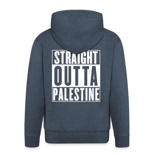 Palestine - Men's Premium Hooded Jacket