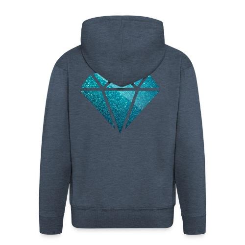 DIAMØND - Men's Premium Hooded Jacket