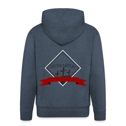 Cross Nation 2017 - Men's Premium Hooded Jacket