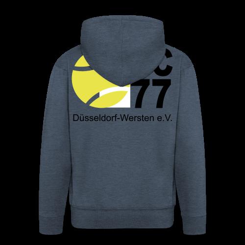 TC 77 Logo - Männer Premium Kapuzenjacke
