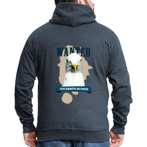WANTED - Fischbrötchendieb - Männer Premium Kapuzenjacke