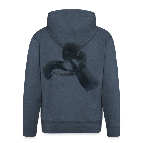 boxing gloves (Saw) - Men's Premium Hooded Jacket