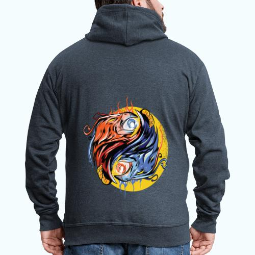 Japan Phoenix - Men's Premium Hooded Jacket
