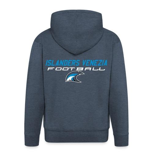 islanders football new logo - Felpa con zip Premium da uomo