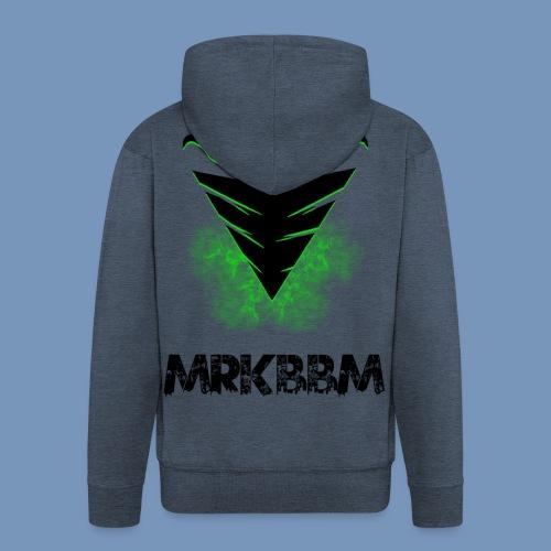 mrkbbm name and logo - Mannenjack Premium met capuchon