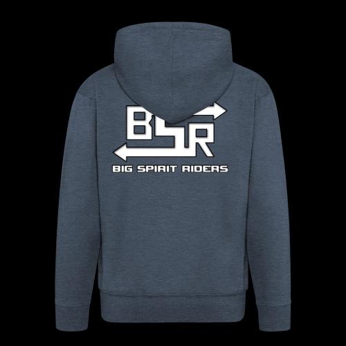 BSR producten met tekst - Mannenjack Premium met capuchon