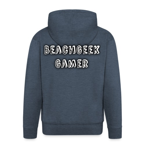 Classic BeachGeek - Men's Premium Hooded Jacket