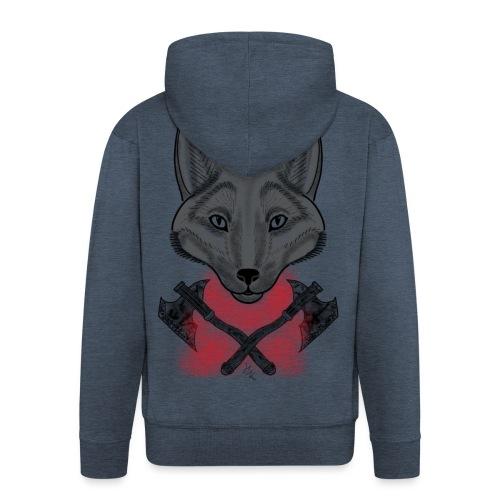 Wolf - Veste à capuche Premium Homme