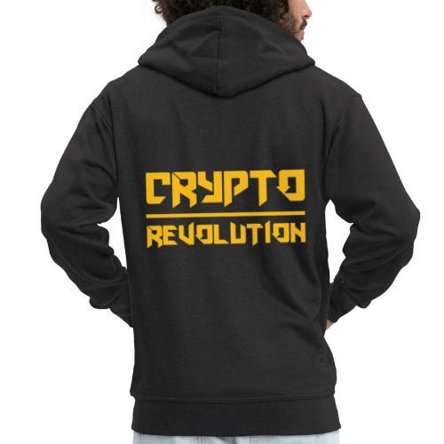 Crypto Revolution III - Men's Premium Hooded Jacket