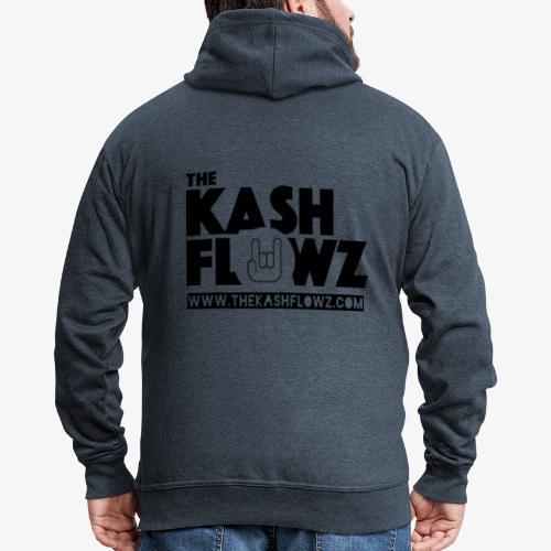 The Kash Flowz Official Web Site Black - Veste à capuche Premium Homme