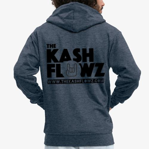 The Kash Flowz Official Web Site Black - Veste à capuche Premium Homme