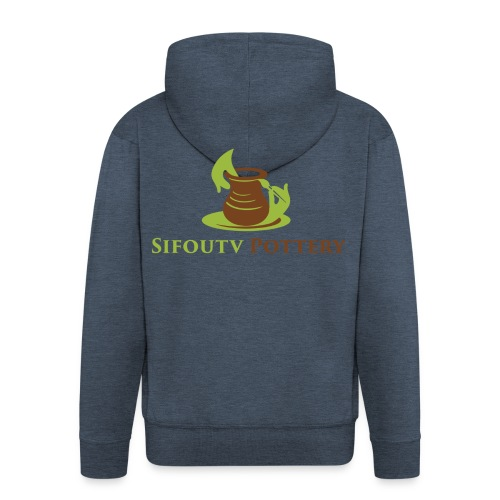 Sifoutv Pottery - Men's Premium Hooded Jacket