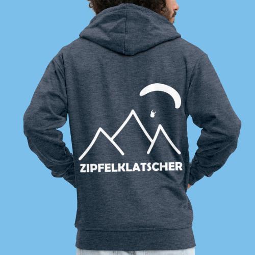 gleitschirmflieger paragliding geschenk T-shirt - Männer Premium Kapuzenjacke