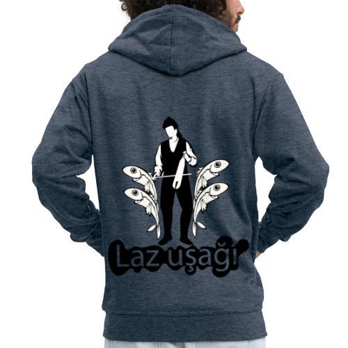 LAZ T SHIRT DESIGN 2 - Männer Premium Kapuzenjacke