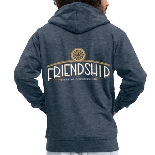 friendship has no boundaries - Männer Premium Kapuzenjacke