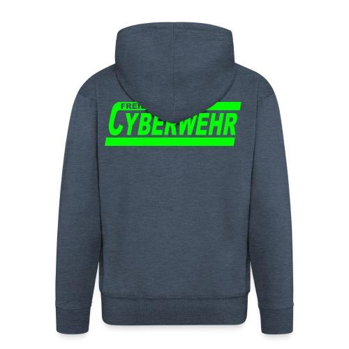 Cyberwehr Dienstkleidung - Männer Premium Kapuzenjacke