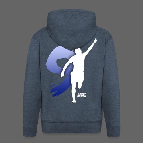 J. Vardy (9) T-Shirt - Men's Premium Hooded Jacket
