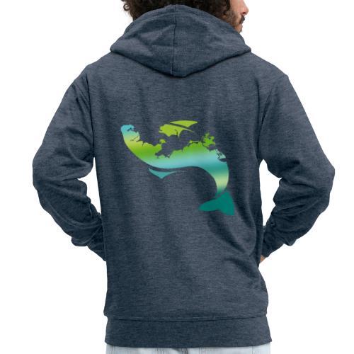 Küstenfisch - Männer Premium Kapuzenjacke